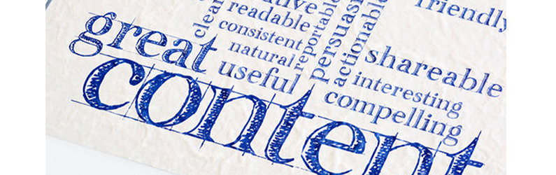 Content is Key When it Comes to Building an Online Presence